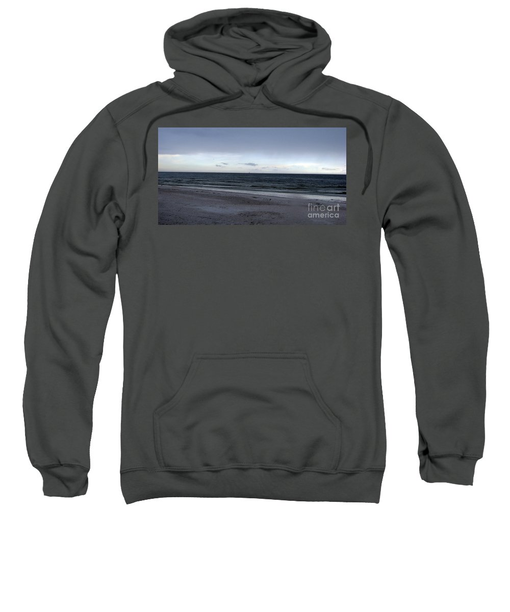 St Petersburg Florida Sweatshirt featuring the photograph Almost Sunset by Amanda Barcon