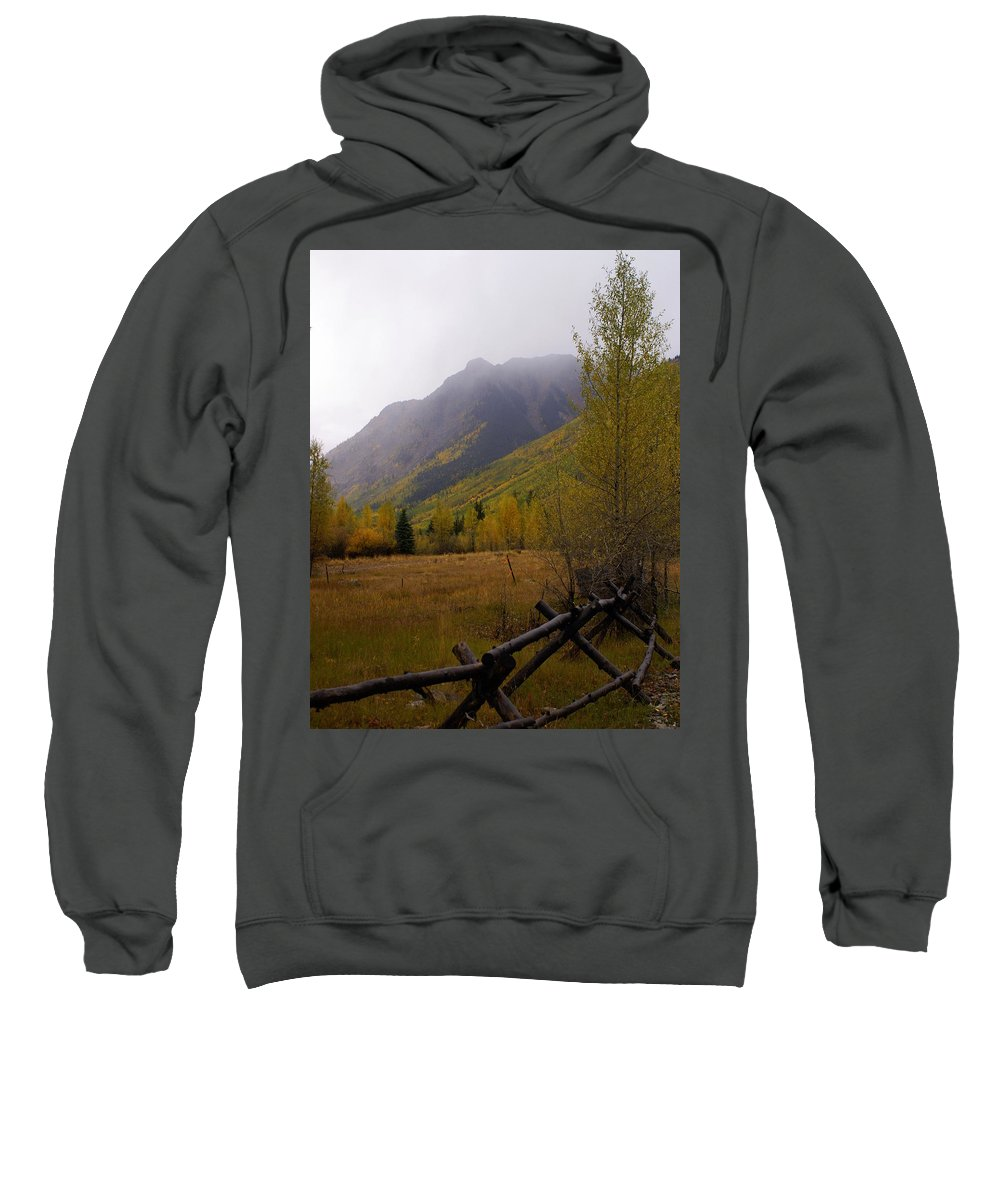 Colorado Sweatshirt featuring the photograph Along The Alpine Loop by Marty Koch