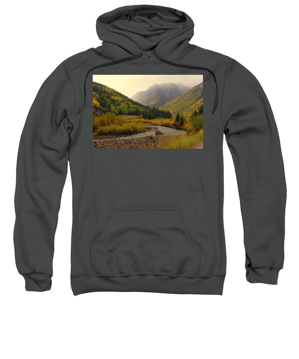Colorado Sweatshirt featuring the photograph Alpine Loop Fall by Marty Koch