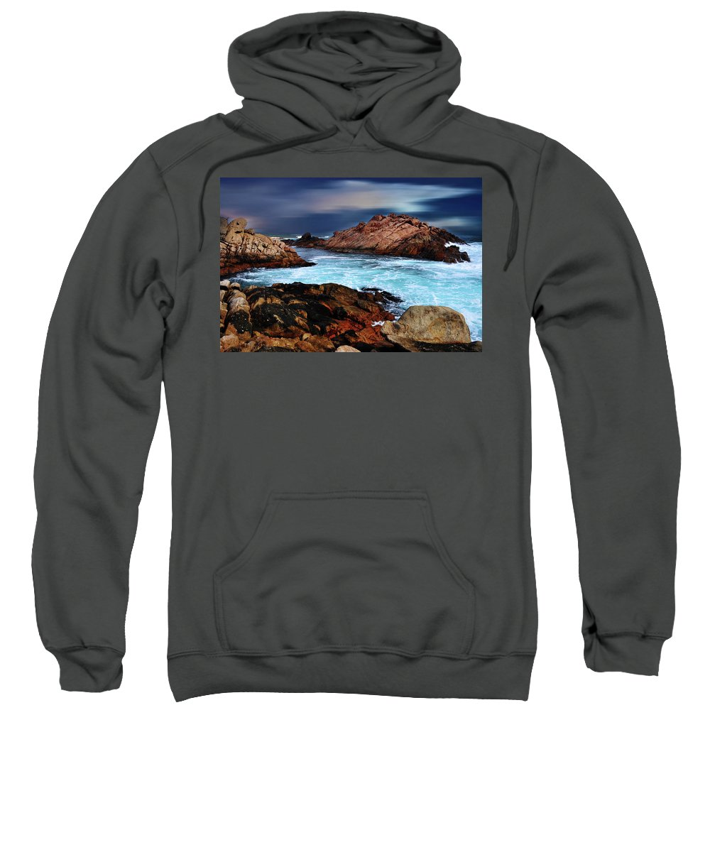 Landscapes Sweatshirt featuring the photograph Amazing Coast by Phill Petrovic