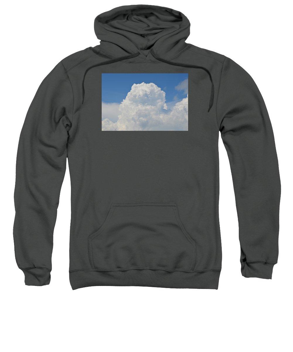 Cumulus Sweatshirt featuring the photograph Amazing Cumulus by Linda Covino