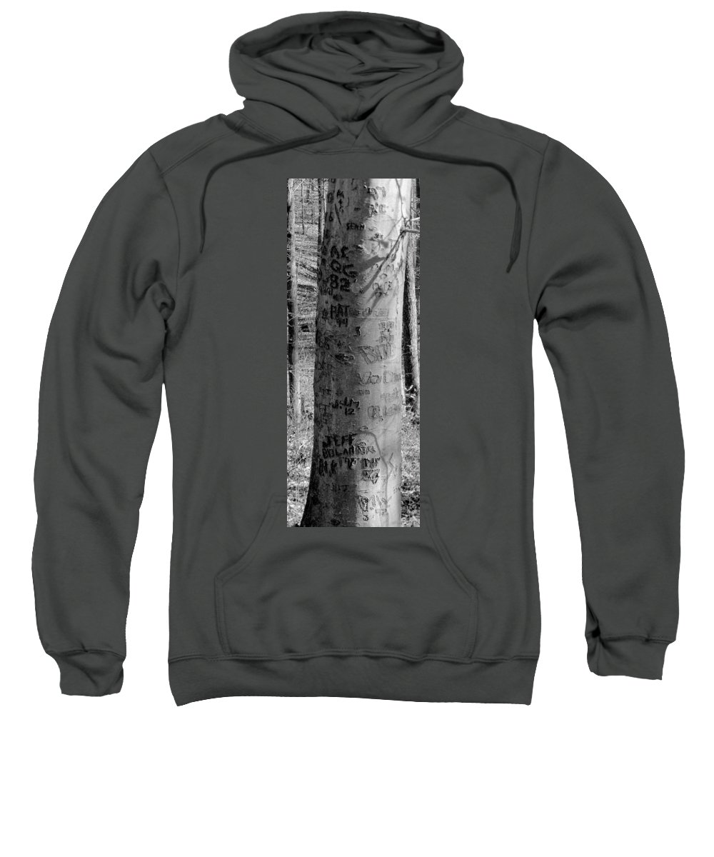 American Sweatshirt featuring the photograph American Graffiti 5 Tattoos For Trees by Ed Smith