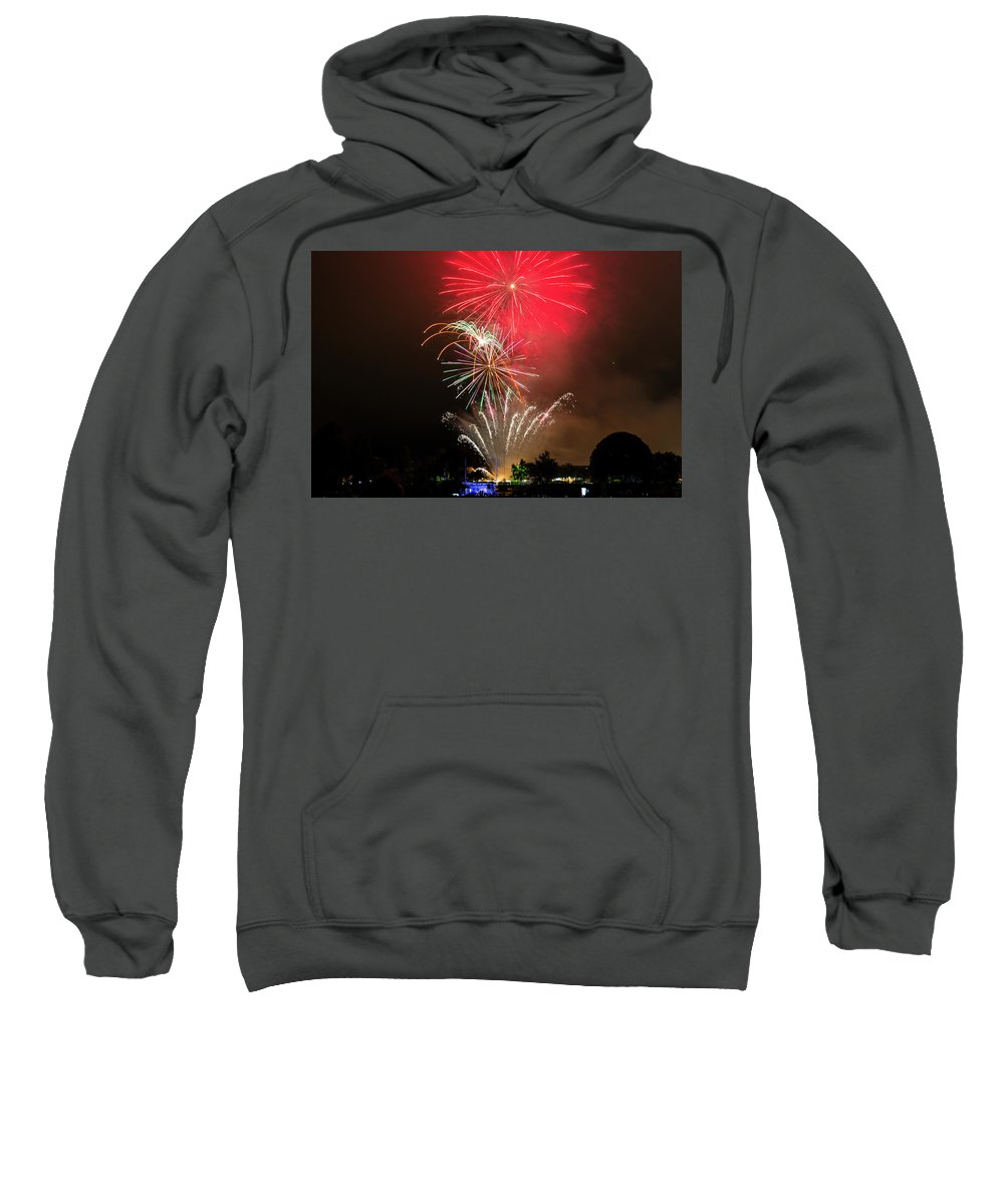 Sweatshirt featuring the photograph American Textures #34 by David Palmer