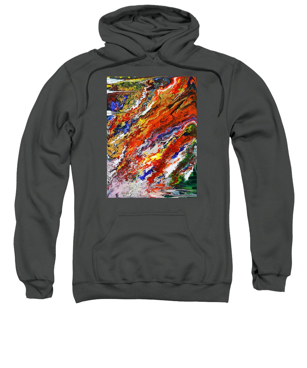 Fusionart Sweatshirt featuring the painting Amplify by Ralph White