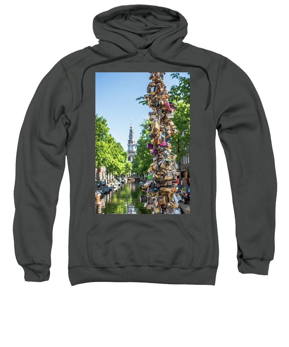 Amsterdam Sweatshirt featuring the photograph Amsterdam by Elisabeth De vries