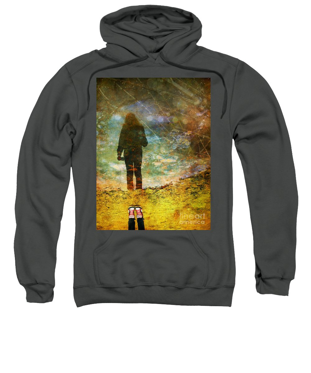 Shoes Sweatshirt featuring the photograph And Then He Turned Her World Upside Down by Tara Turner