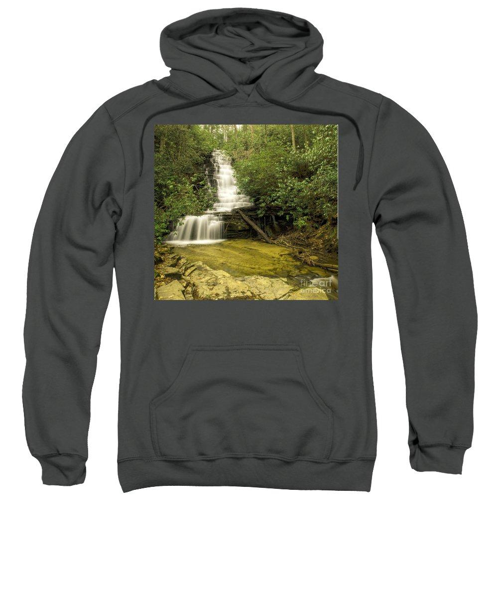 Angel Falls Sweatshirt featuring the photograph Angel Falls by Barbara Bowen