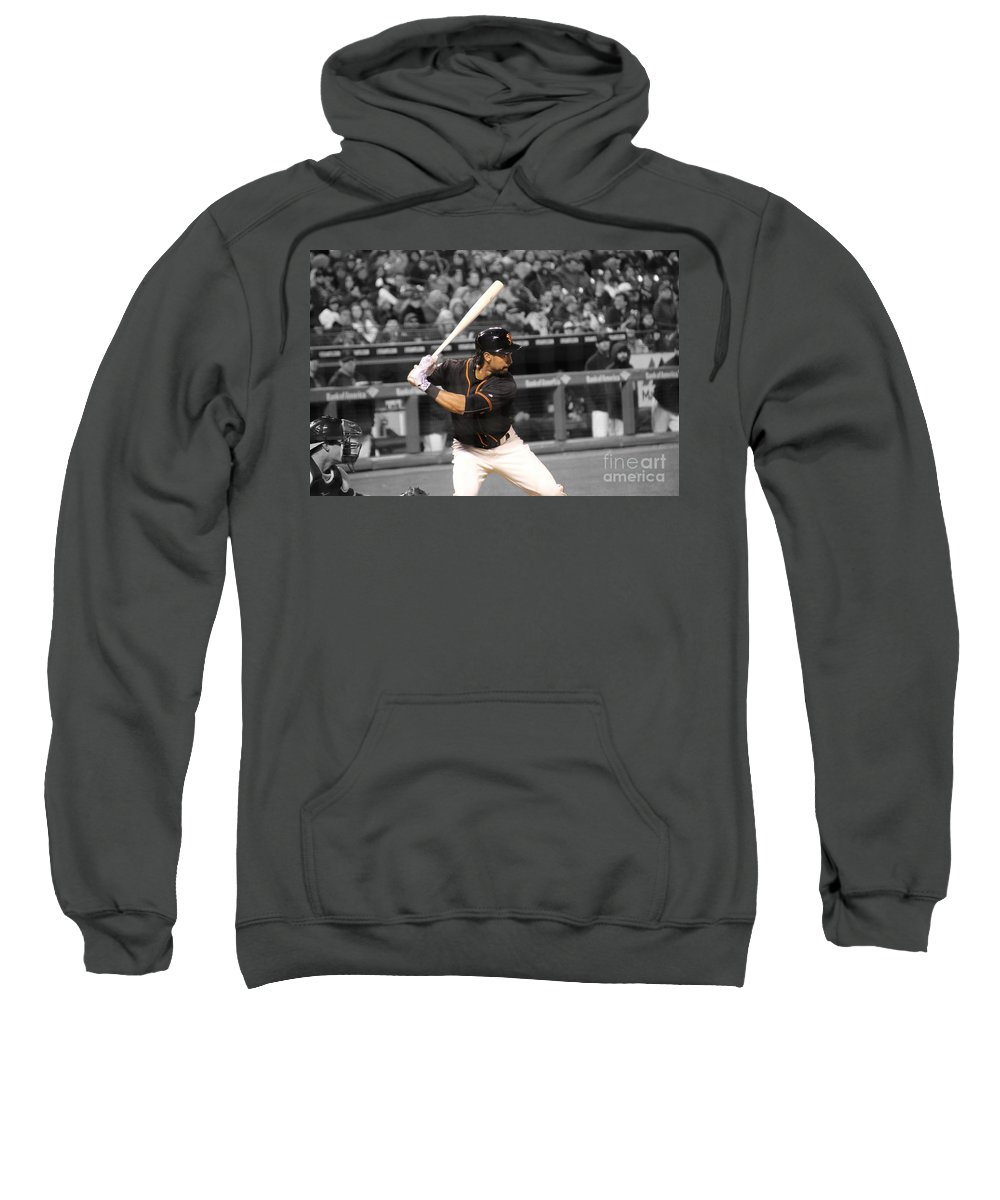 Angel Pagan Sweatshirt featuring the photograph Angel Pagan by Erik Dunn