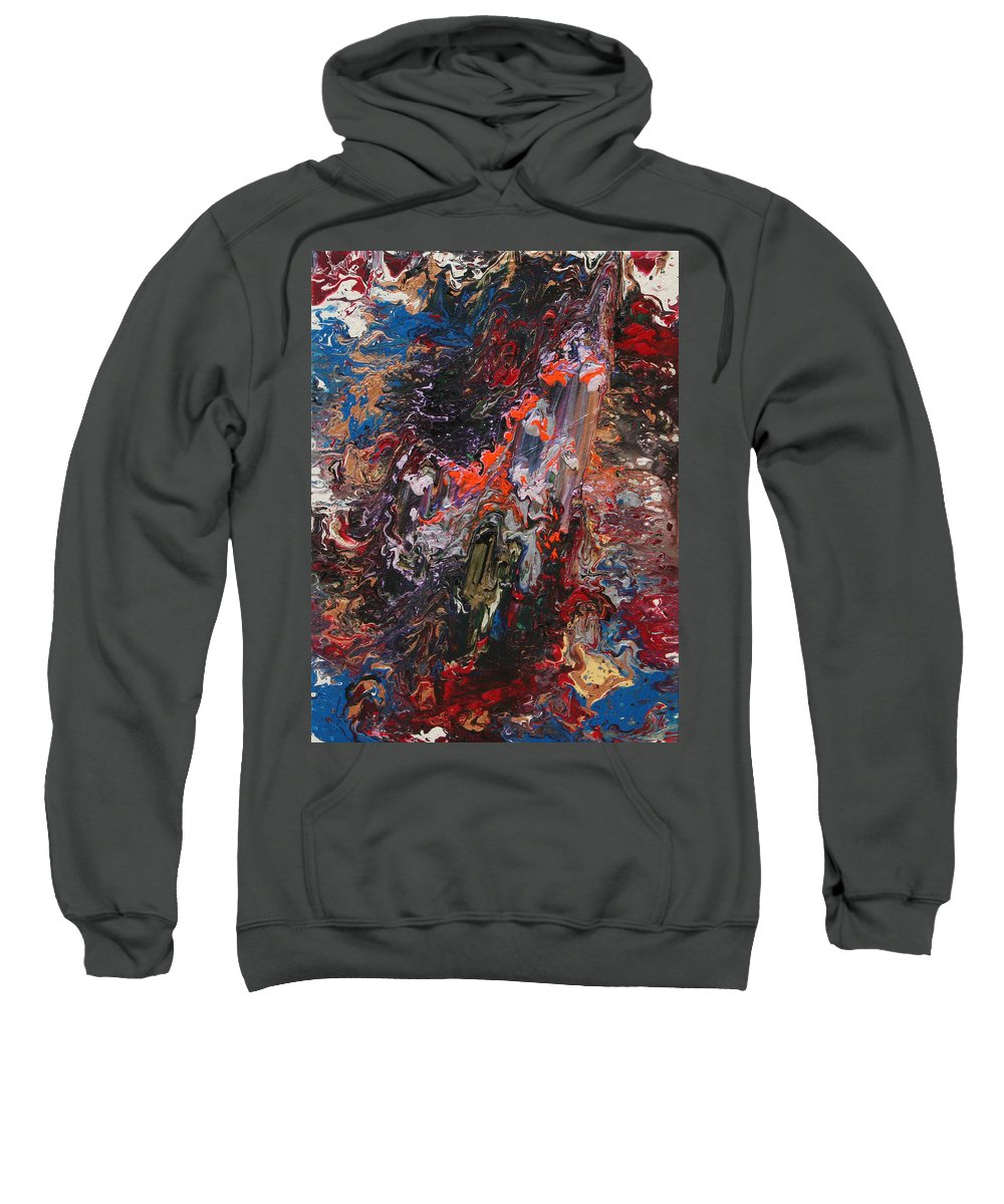Fusionart Sweatshirt featuring the painting Angel Rising by Ralph White