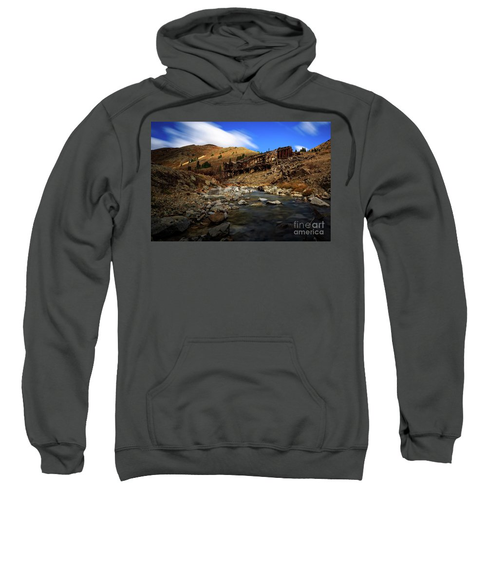 Colorado Sweatshirt featuring the photograph Animas Forks Colorado by Doug Sturgess