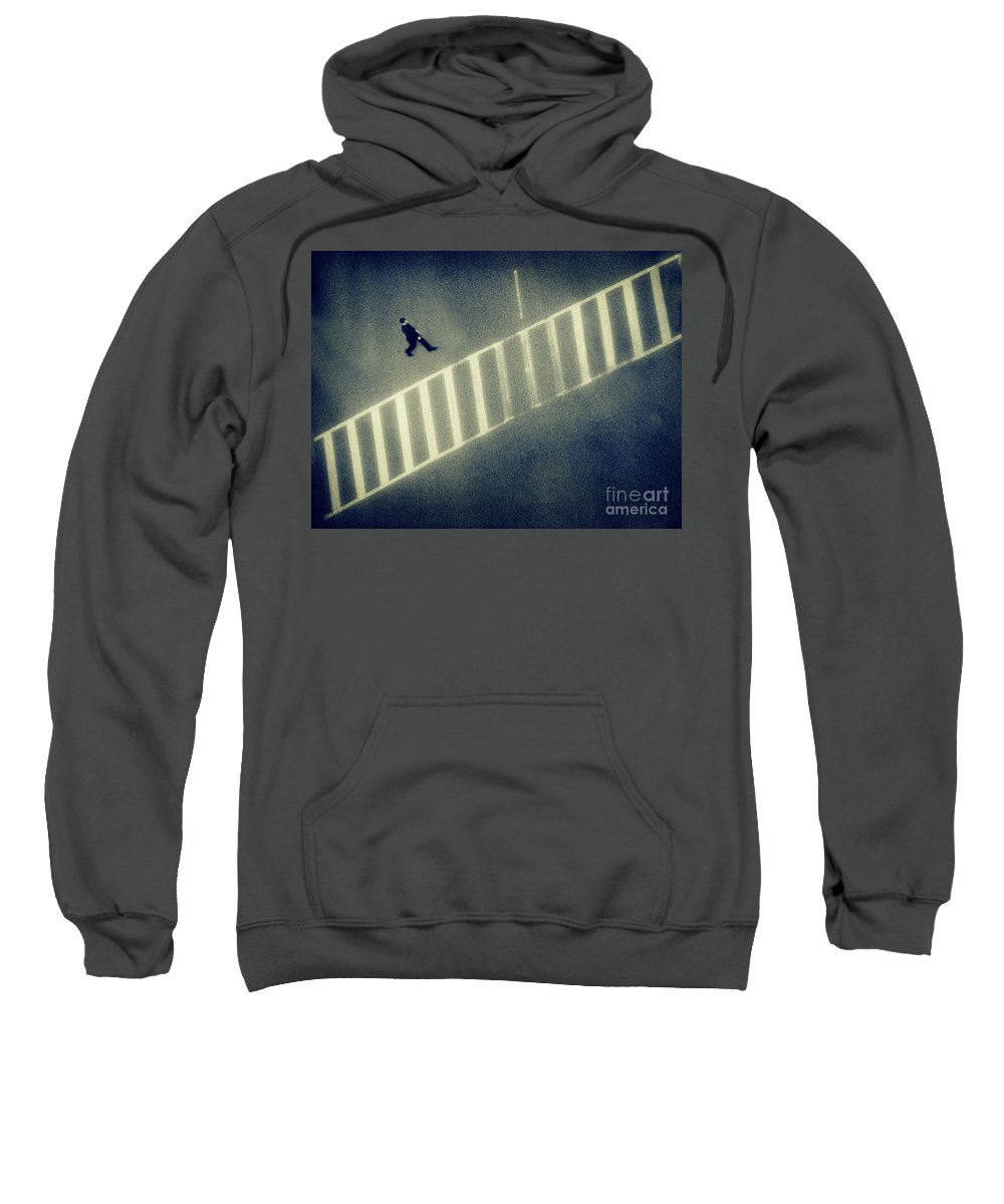 City Sweatshirt featuring the photograph Anonymity by Dana DiPasquale