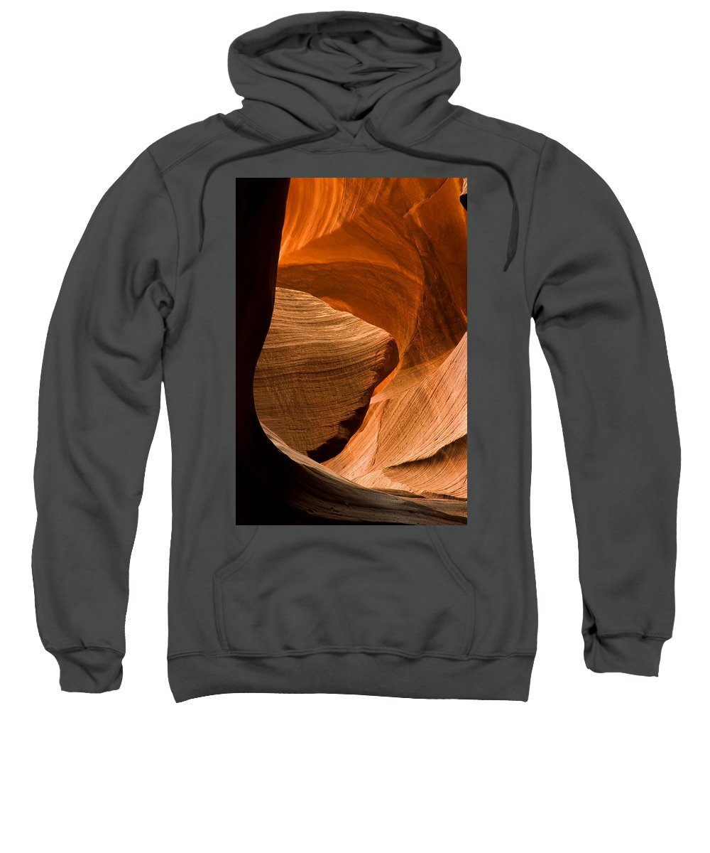 3scape Photos Sweatshirt featuring the photograph Antelope Canyon No 3 by Adam Romanowicz