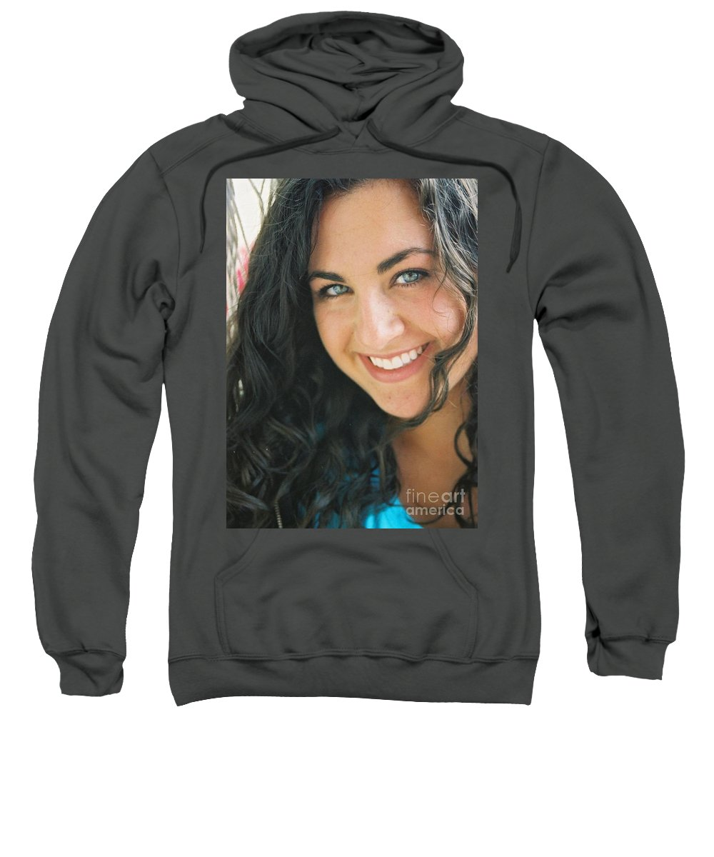 Girl Sweatshirt featuring the photograph Anticipation by Nadine Rippelmeyer