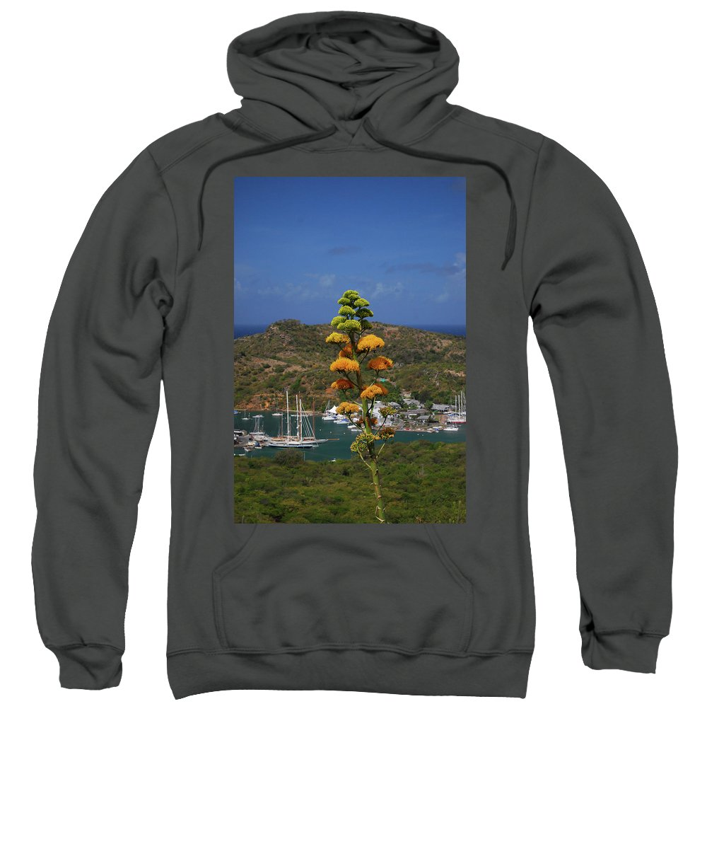 Caribbean Islands Sweatshirt featuring the photograph Antigua National Flower by Gary Wonning