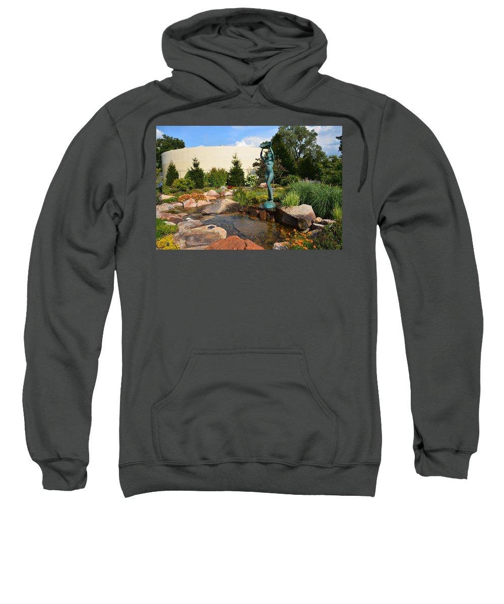 Landscape Sweatshirt featuring the photograph Aphrodite by Douglas Neumann