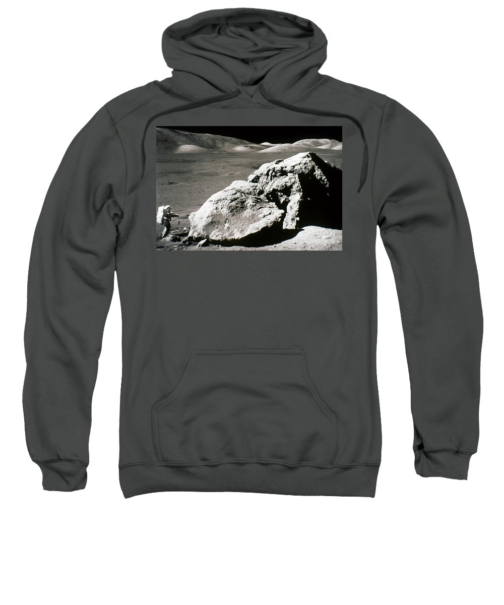 1972 Sweatshirt featuring the photograph Apollo 17, December 1972: by Granger