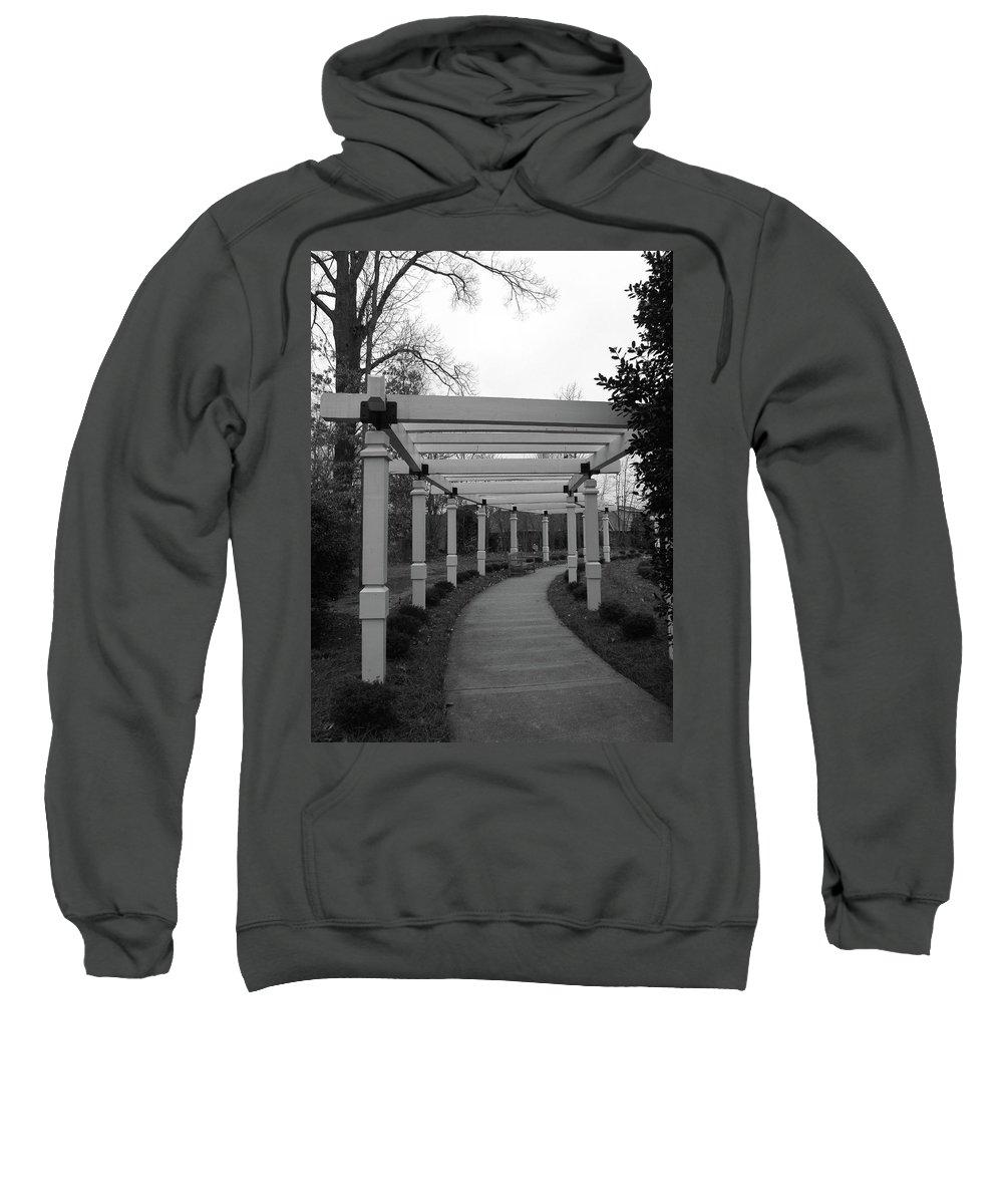 Arbor Sweatshirt featuring the photograph Arbor Walk by Sandi OReilly