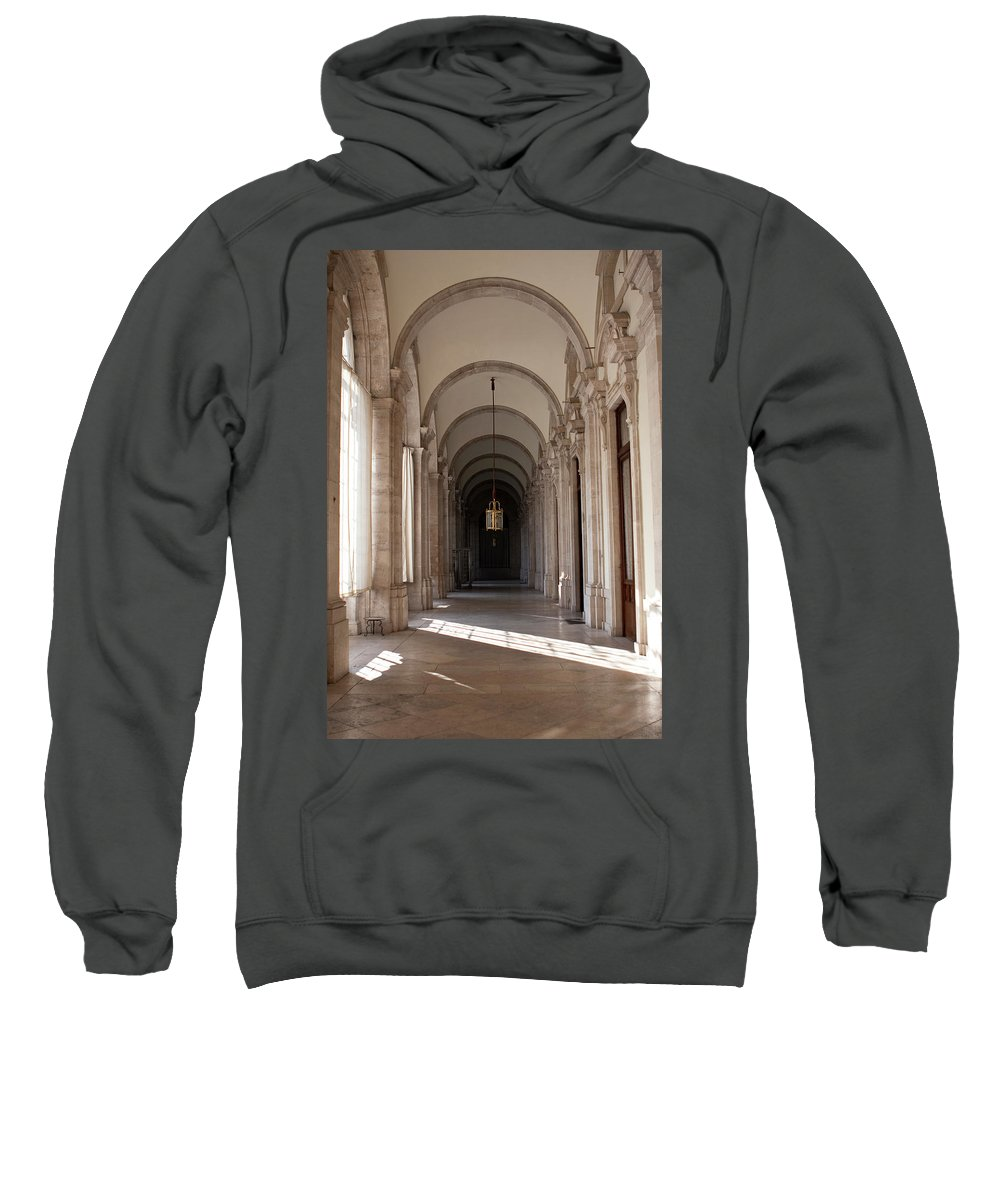 Madrid Sweatshirt featuring the photograph Arched And Elegant by Lorraine Devon Wilke