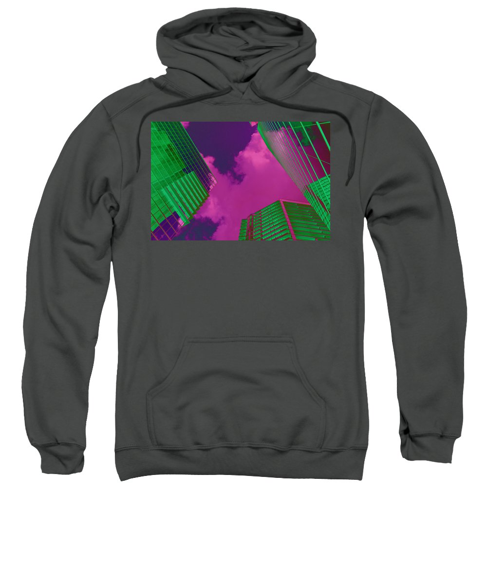 Built Structure Sweatshirt featuring the photograph Architectural Abstract by Craig McCausland