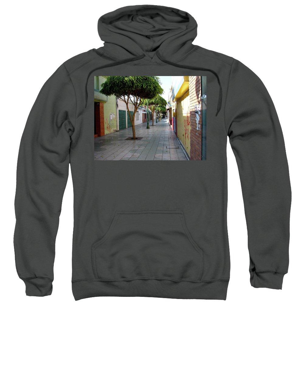 Arica Sweatshirt featuring the photograph Arica Chile by Brett Winn