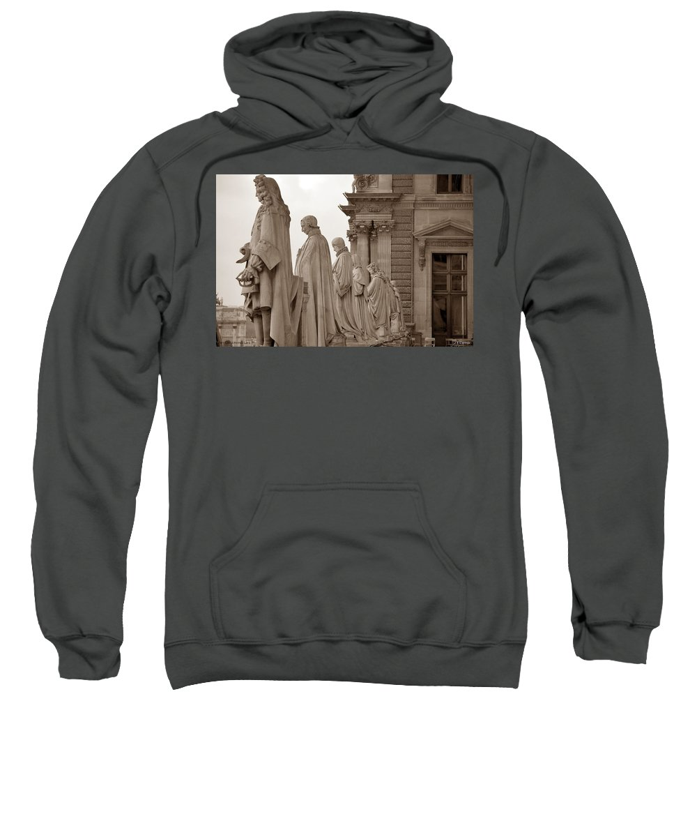 Paris Sweatshirt featuring the photograph Art Observing Life by J Todd