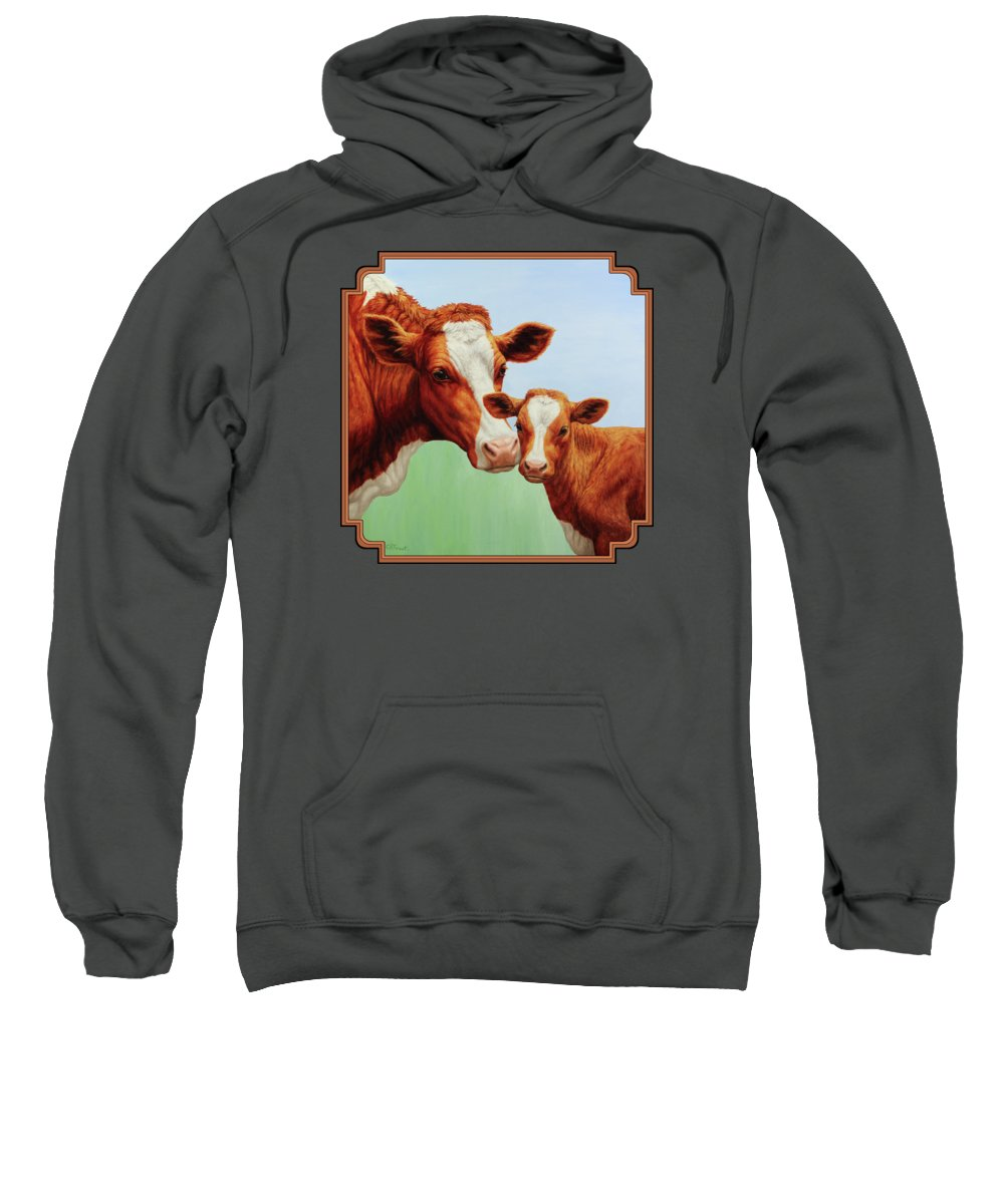 Cow Hooded Sweatshirts T-Shirts