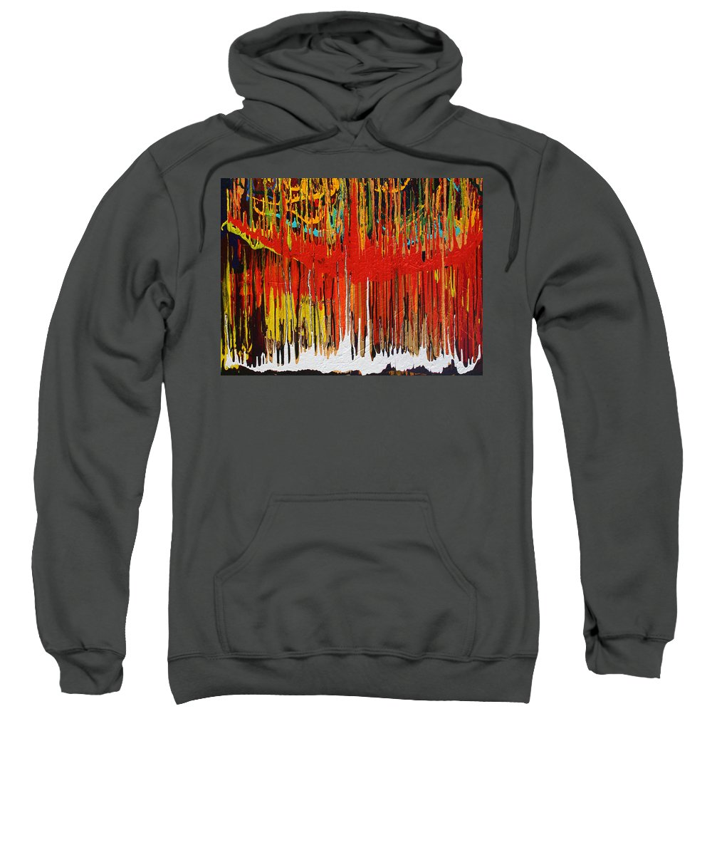 Fusionart Sweatshirt featuring the painting Ascension by Ralph White