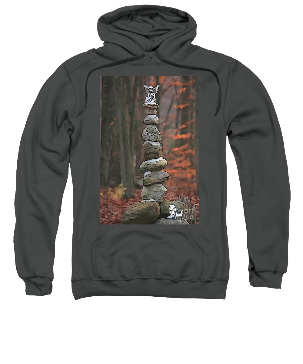 Staute Sweatshirt featuring the photograph Ascention by Cj Mainor