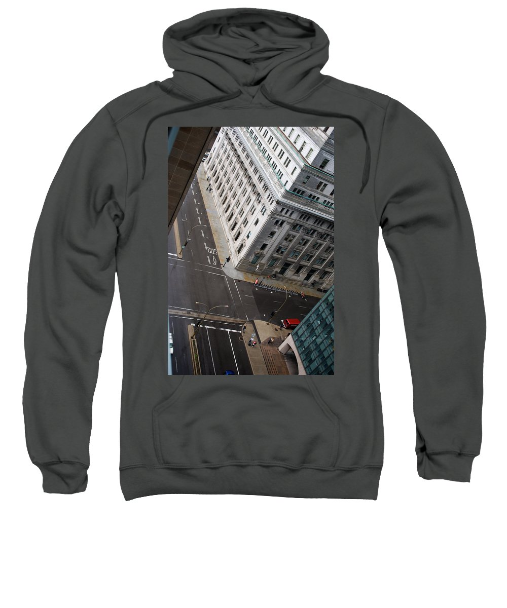 Askew Sweatshirt featuring the photograph Askew View by Lisa Knechtel