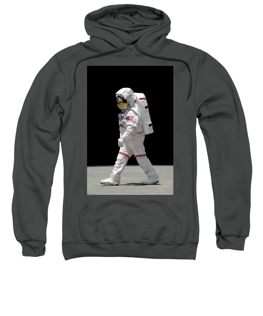 Apollo Sweatshirt featuring the photograph Astronaut by Francesa Miller