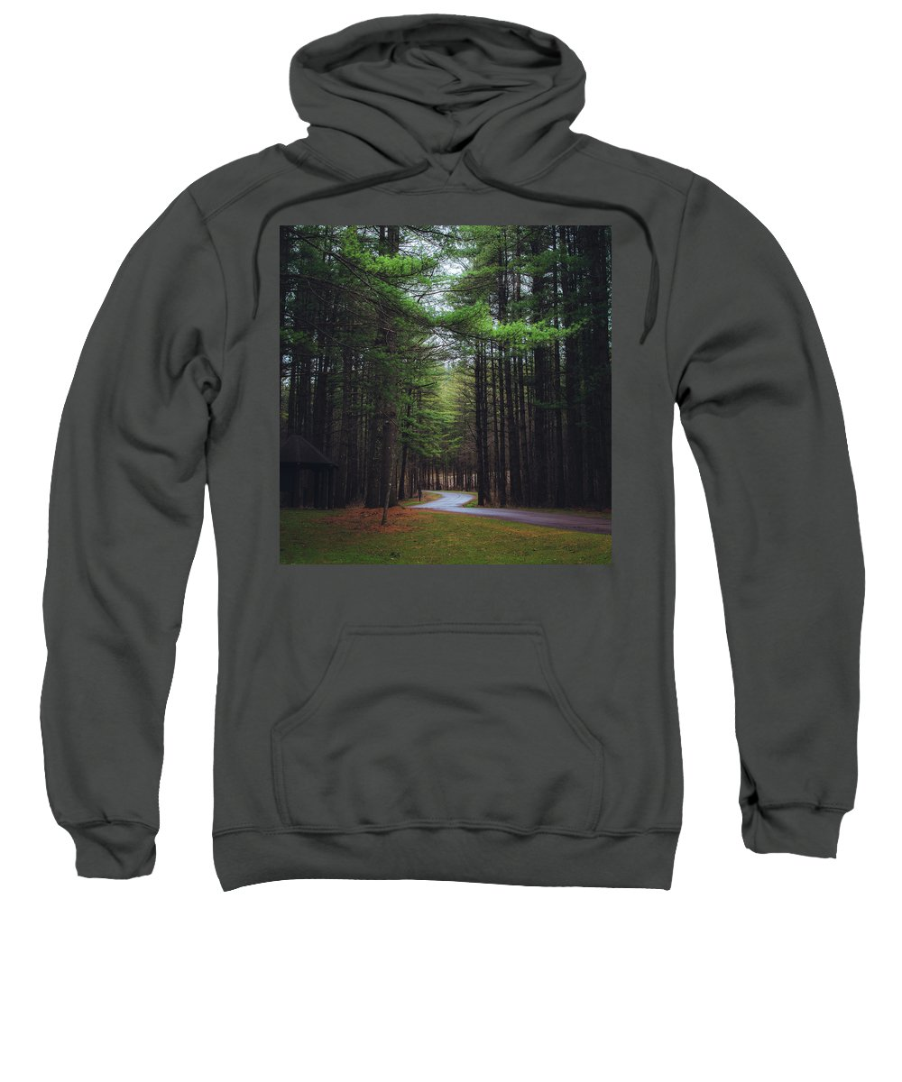 Trail Sweatshirt featuring the photograph At Peace by Brandon Rosburg