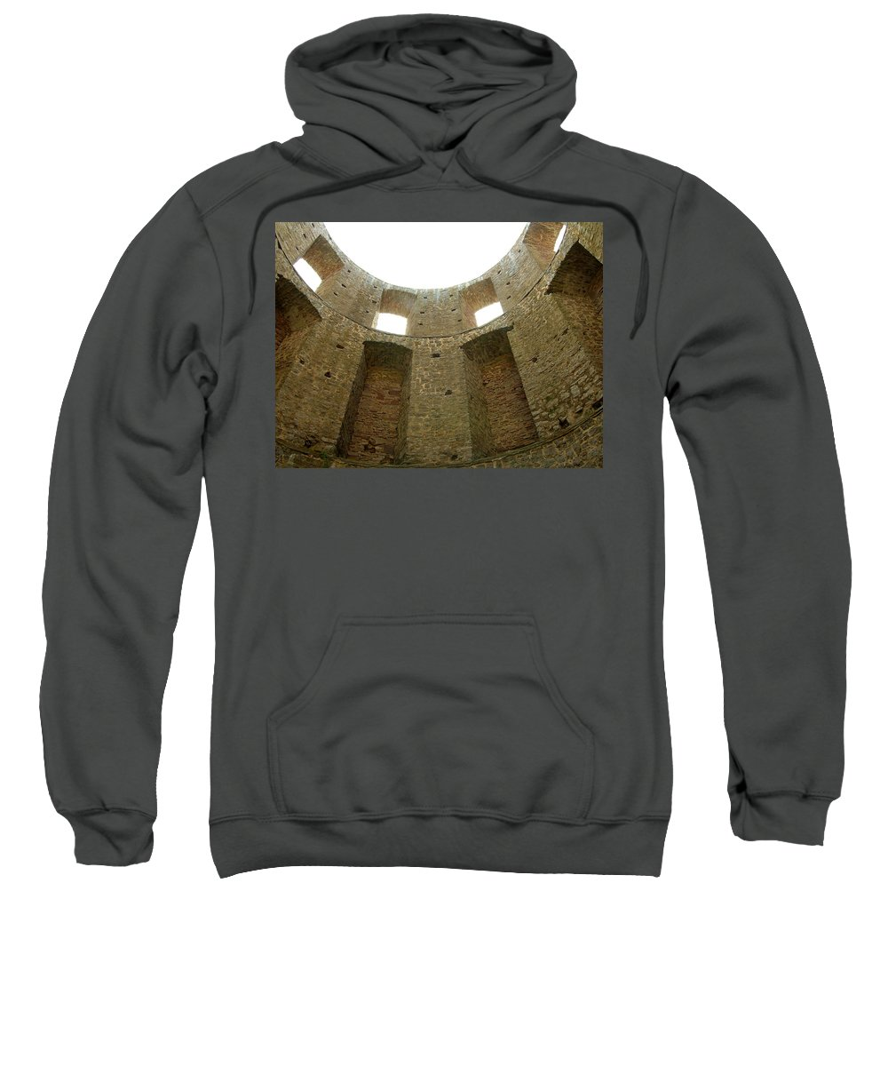 Tower Sweatshirt featuring the photograph At The Inside by Are Lund