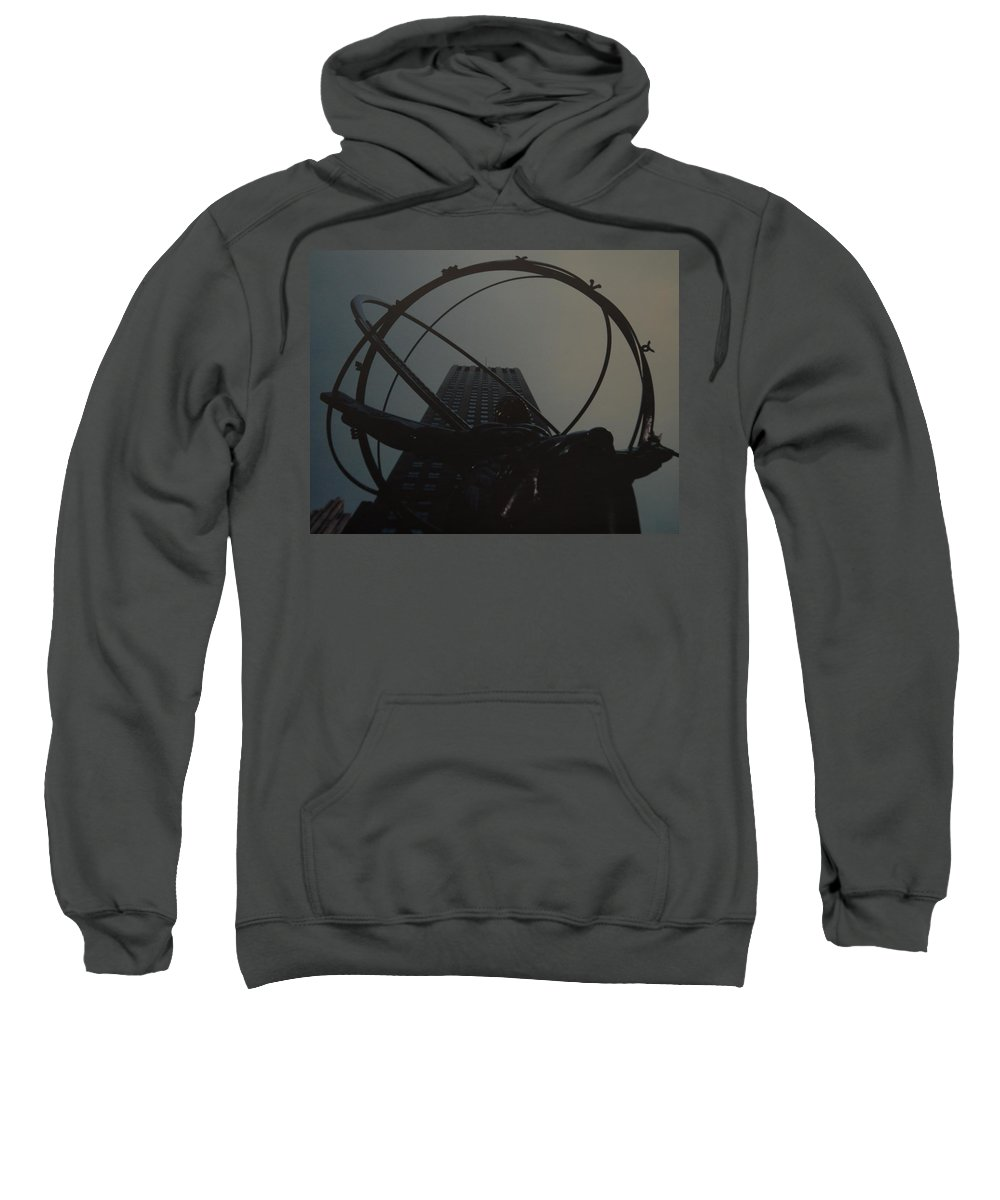 Atlas Sweatshirt featuring the photograph Atlas by Rob Hans