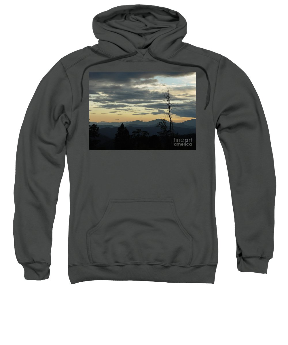 Atmospheric Sweatshirt featuring the photograph Atmospheric Perspective by Peter Piatt