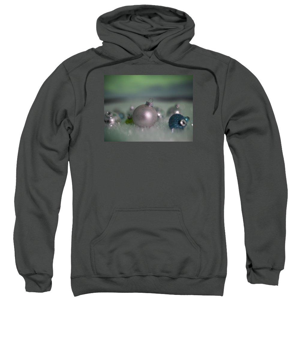 Sweatshirt featuring the photograph Aurora Borealis Christmas by Ian Johnson