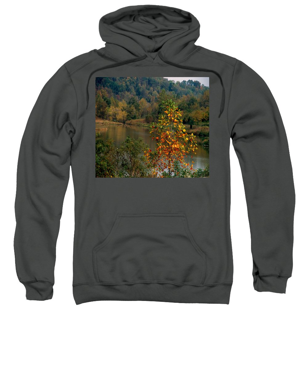 Fall Colors Sweatshirt featuring the photograph Autumn Colors by Gary Wonning