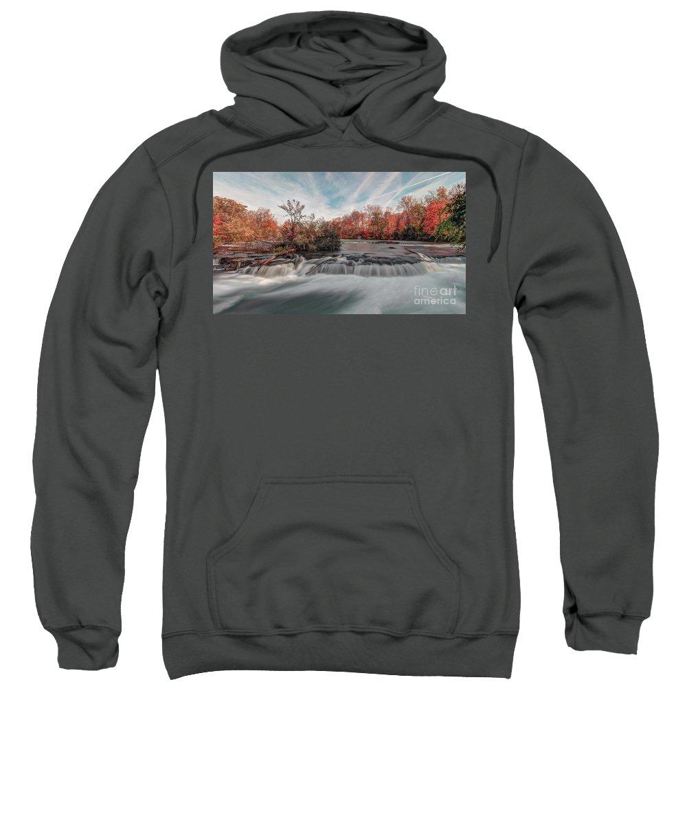 Autumn Sweatshirt featuring the photograph Autumn On The Niagara by Rod Best