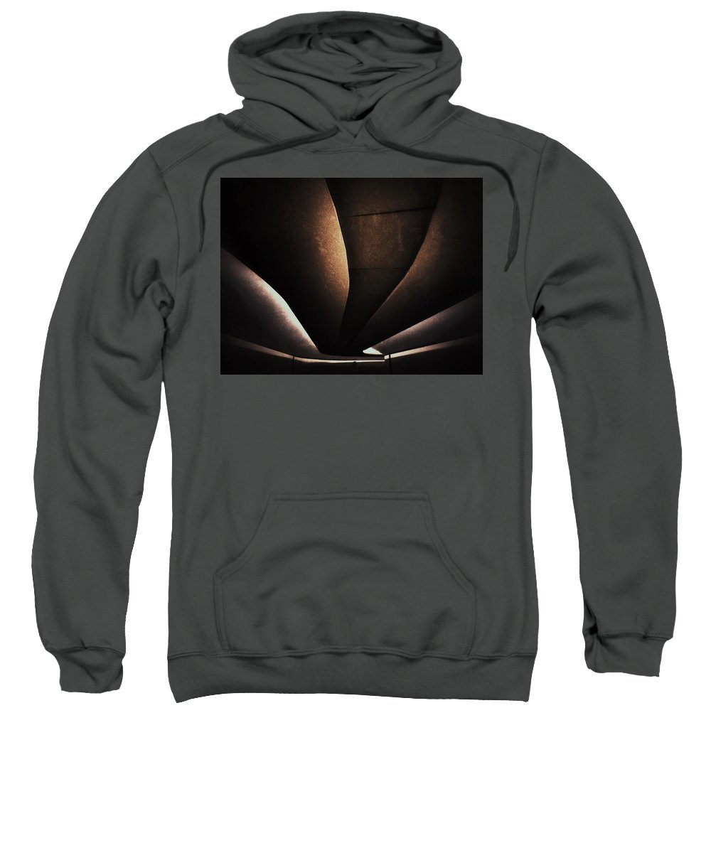 Back Light Sweatshirt featuring the photograph Back Light by Julian Darcy