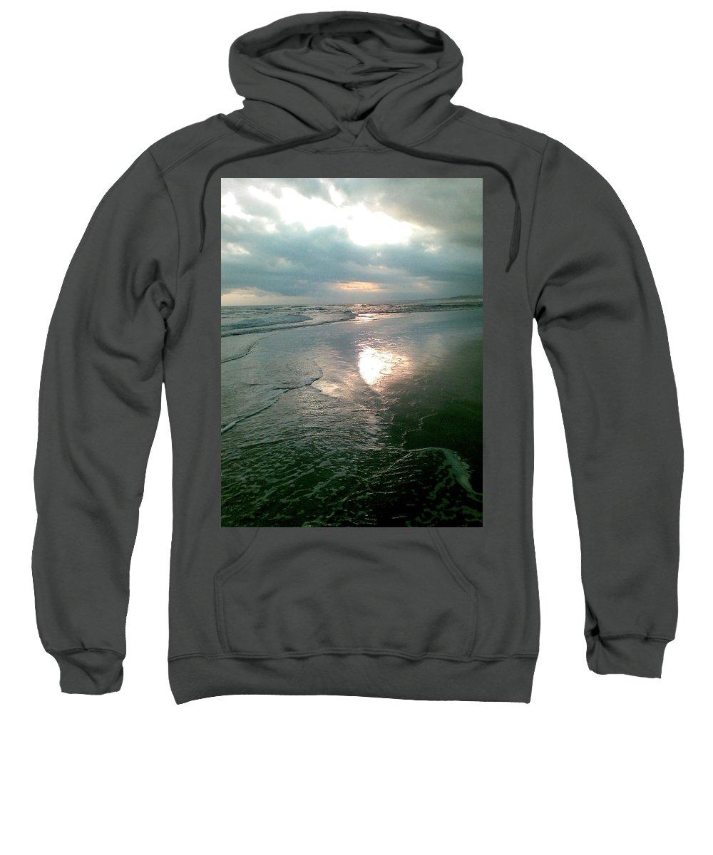 Bali Sweatshirt featuring the photograph Bali Dusk by Mark Sellers