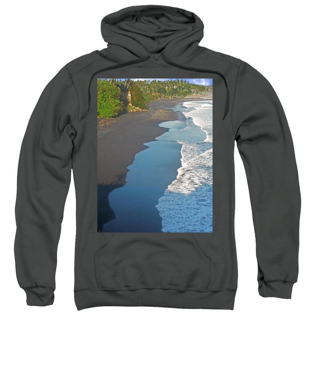 Bali Sweatshirt featuring the photograph Bali Western Shore by Mark Sellers