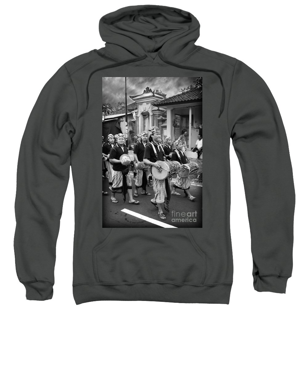 Balinese People Sweatshirt featuring the photograph Balinese People by Charuhas Images