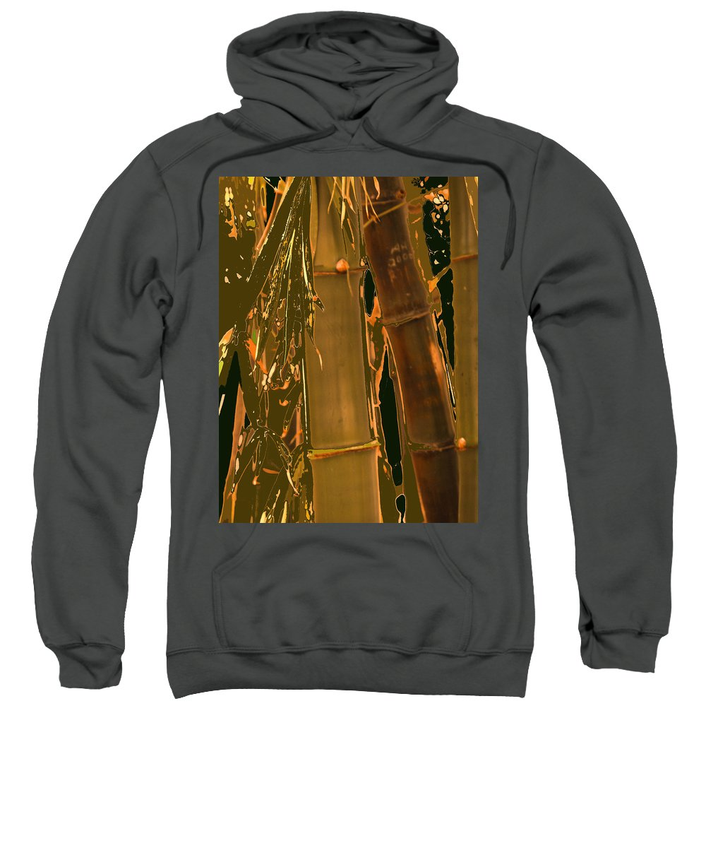 Florida Sweatshirt featuring the photograph Bamboo by Ian MacDonald