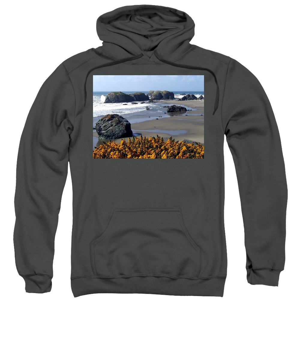 Bandon Sweatshirt featuring the photograph Bandon 23 by Will Borden