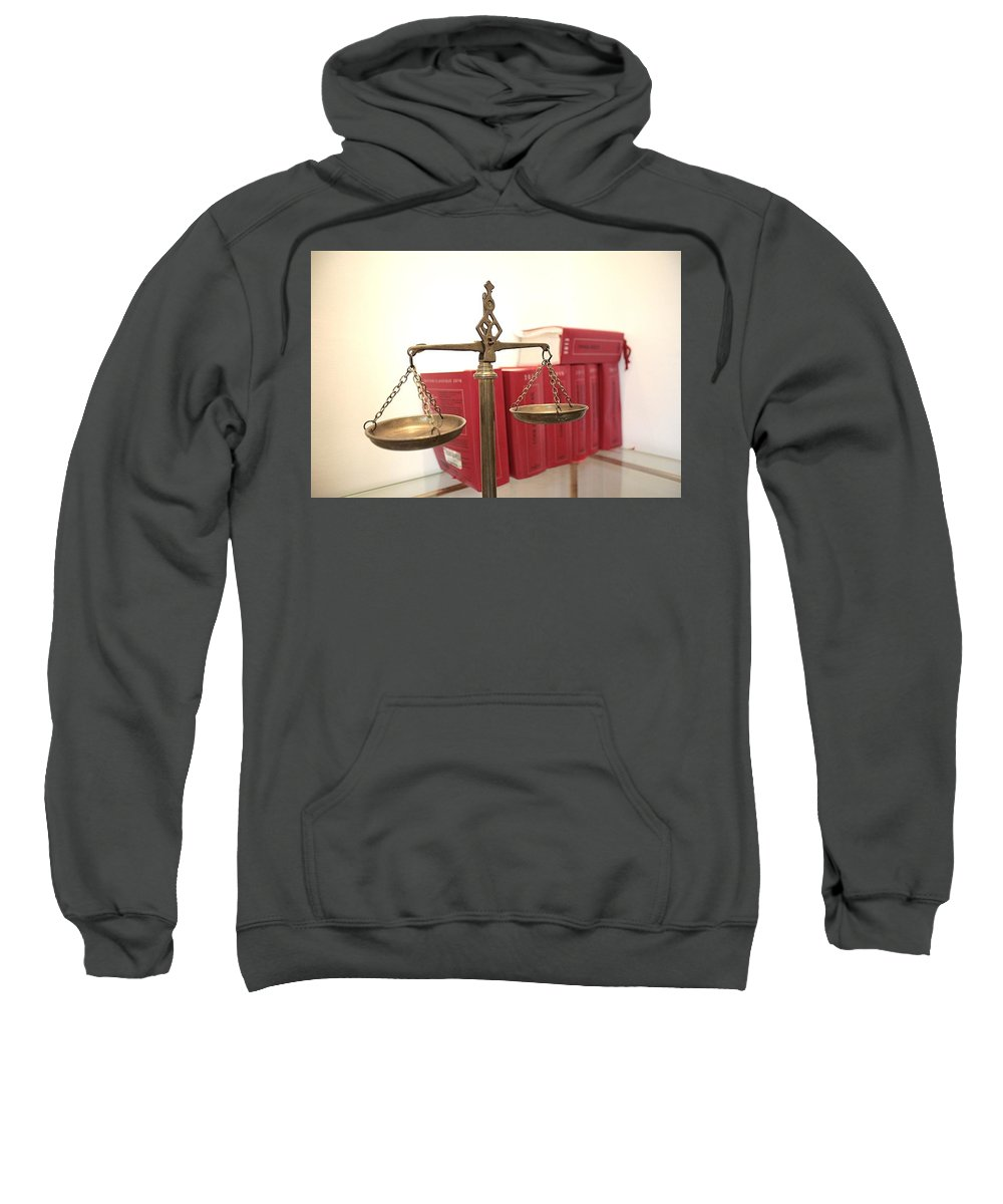 Bankruptcy Attorney Richmond Va Sweatshirt featuring the mixed media Bankruptcy Lawyer Richmond Va by The Andrews Law Firm