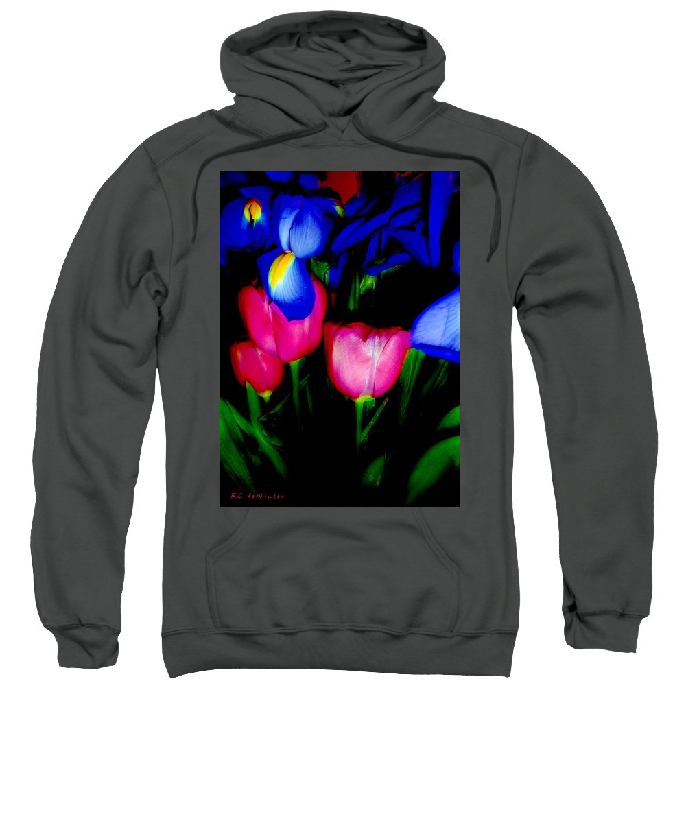 Tulips Sweatshirt featuring the photograph Bare Essentials by RC DeWinter