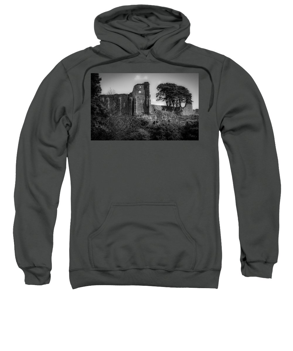 Barnard Castle Sweatshirt featuring the digital art Barnard Castle by Bert Mailer