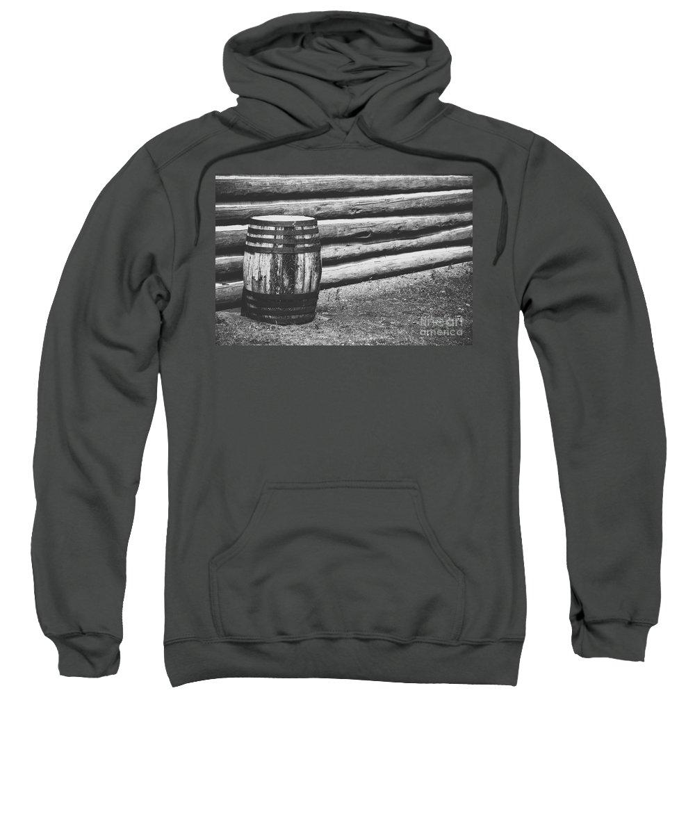 Barrel Sweatshirt featuring the photograph Barrel by Wesley Farnsworth