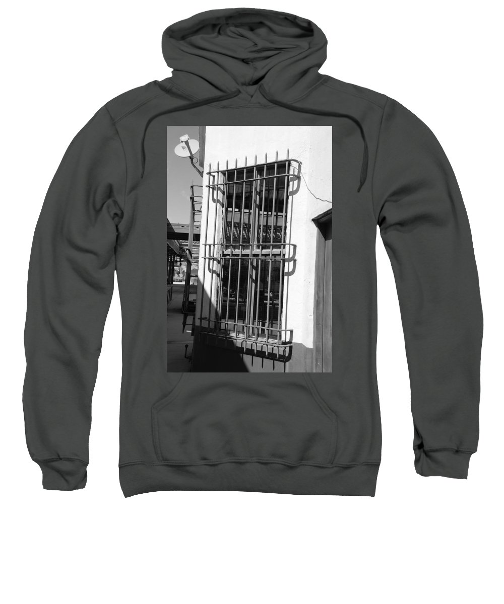 Train Station Sweatshirt featuring the photograph Bars by Rob Hans