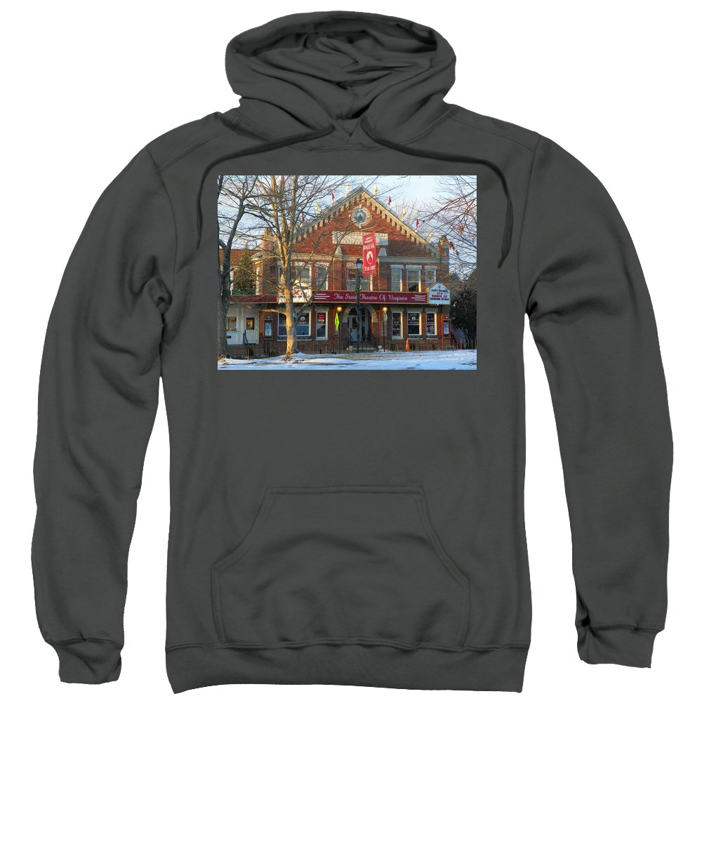 Barter Theatre Sweatshirt featuring the photograph Barter Theatre by Karen Wiles