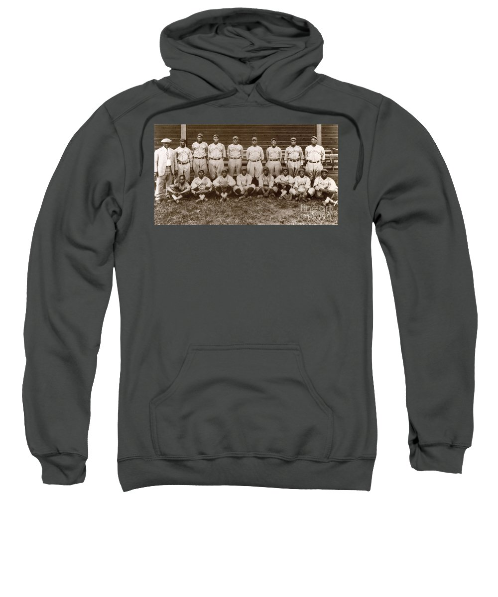 1927 Sweatshirt featuring the photograph Baseball: Negro Leagues by Granger